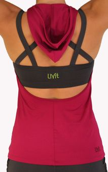 LivFit workout/yoga clothing. A bit cheaper than Lululemon & just as cute.
