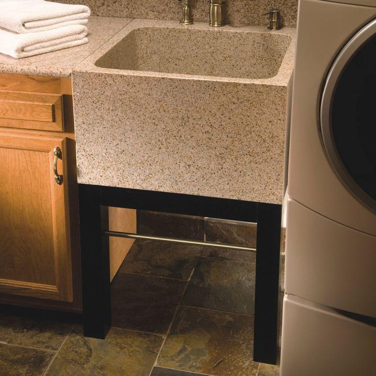 Quiescence SI UL 2425 TAN Farm Charm Deep Granite Utility Or Laundry Basin  At ATG Stores | Bathish U0026 Laundry | Pinterest | Basin, Laundry And Granite