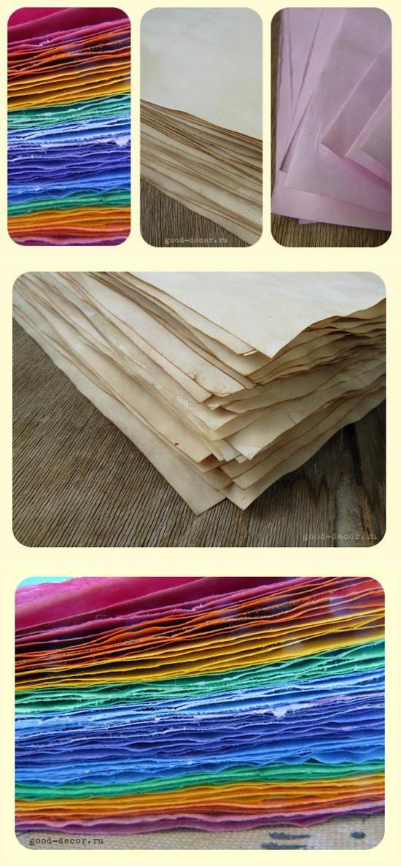 Как покрасить бумагу чаем, кофе, акварелью и пищевыми красителями | плетение из газет | Постила
