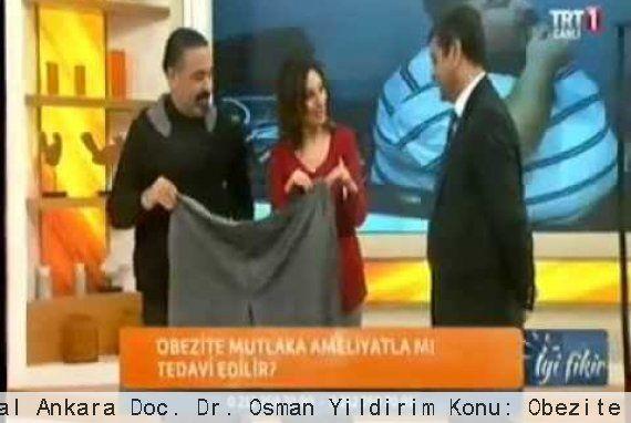Medicana International Ankara Doç. Dr. Osman Yıldırım Konu: Obezite Cerrahisi (1. Bölüm)