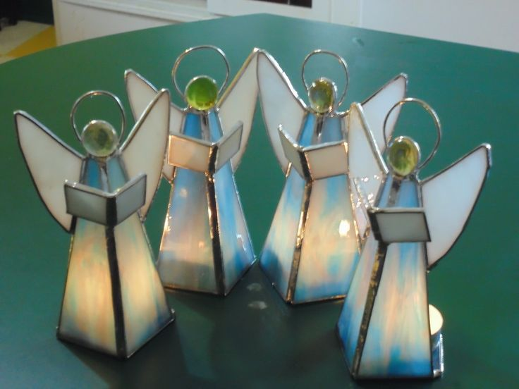 Angel tealight candle holders by BrianEmpson