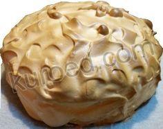 Торт с безе, мороженым и ананасами