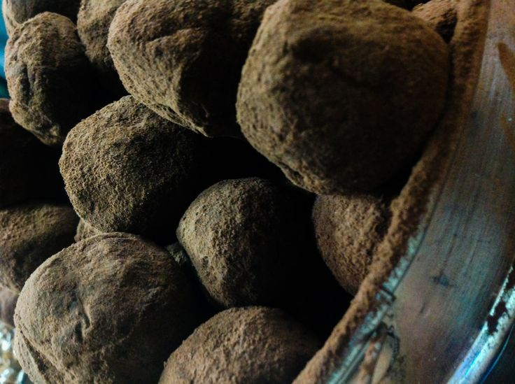 Pure chocolate indulgence, the French truffle ....