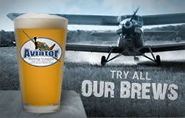 Fuquay Varina's Aviator Brewing Company started in an airplane hangar. The Carolinas Championship of Beer winner offers year-round beers as well as seasonals and one-offs.