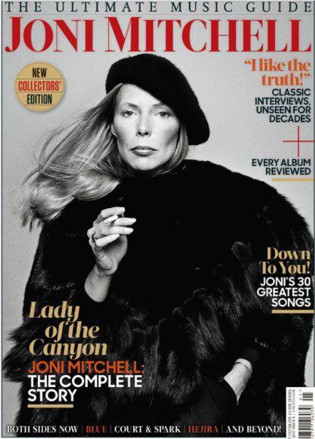 """Joni Mitchell - still """"stoking the star-maker machinery behind the popular song"""""""