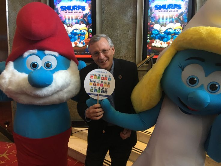 Smurfs adore the Sustainable Development Goals We met up in Sydney  thanks for your support! #smallsmurfsbiggoals Do the quiz to find out which Smurf you are and how you would cope given various life threatening scenarios: http://www.smallsmurfsbiggoals.com