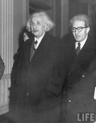 Einstein & Kissinger ~ the hair that roared...