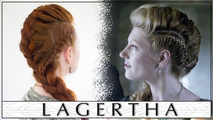 Lagertha's Vikings French Braid