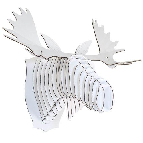 FRED large, élan trophée en carton, Cardboard Safari