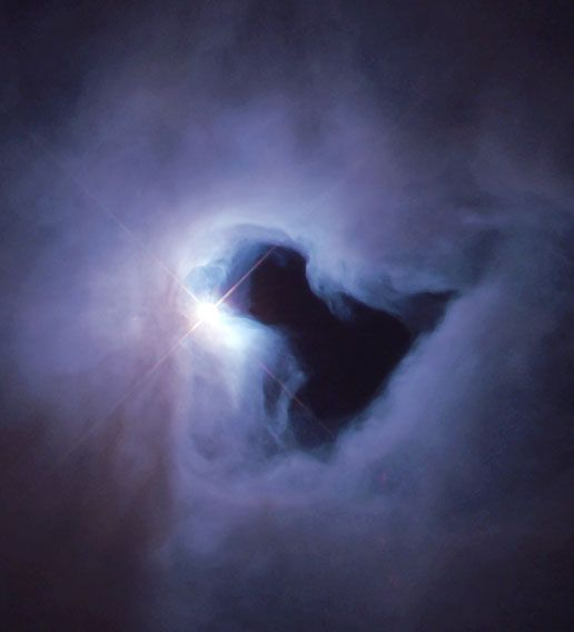 Just weeks after NASA astronauts repaired the Hubble Space Telescope in December 1999, the Hubble Heritage Project snapped this picture of NGC 1999, a reflection nebula in the constellation Orion.