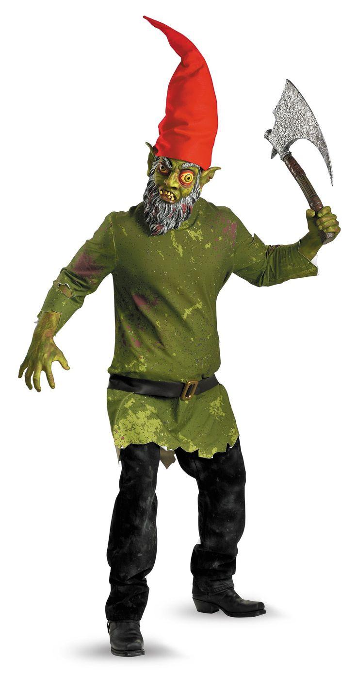 Evil Gnome Adult Costume