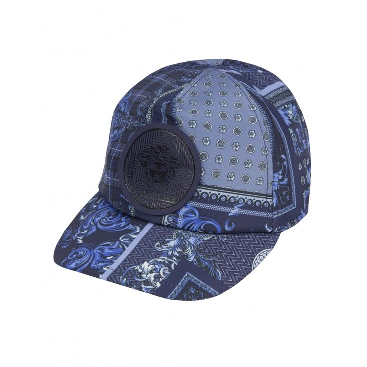 Young Versace Boys Navy Hat New Childrenswear Autumn/Winter