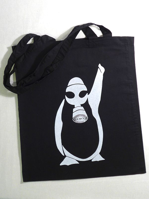 Gezi Penguin Tote via Tribe of E. Click on the image to see more!
