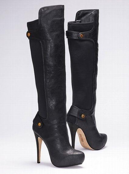 Black boots victoriassecret.com