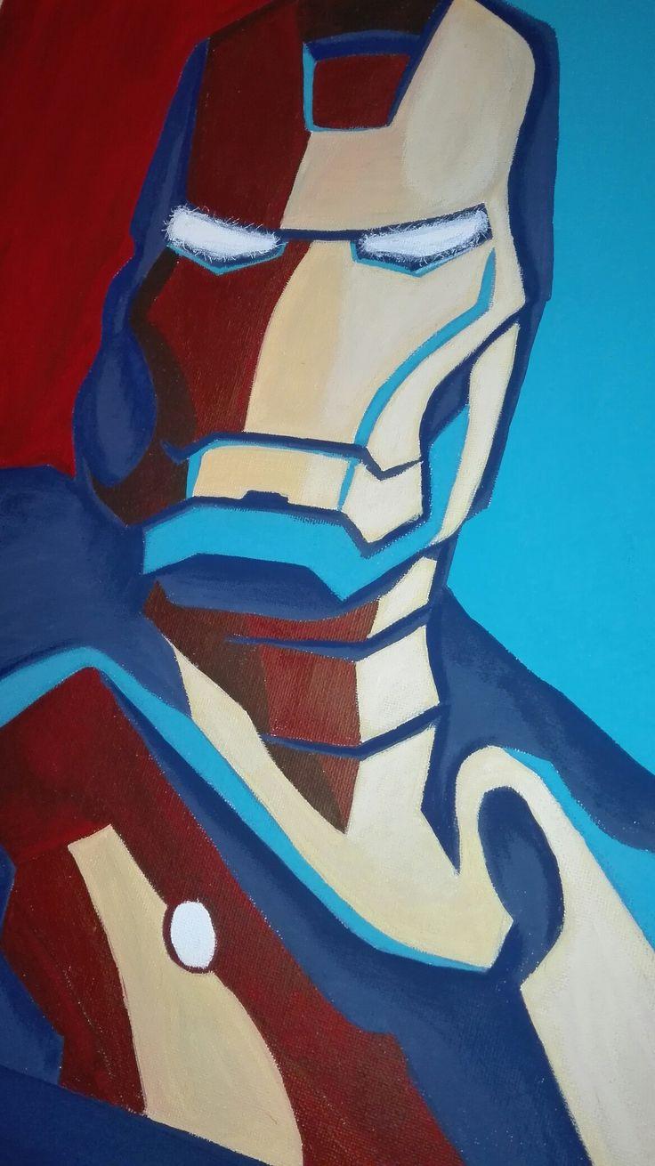 Iron man detail