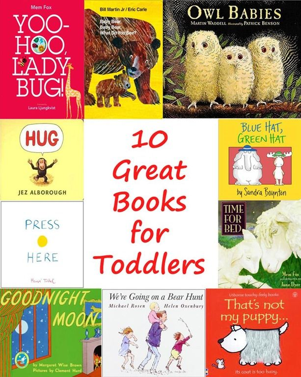 ten great picture books for toddlers - Free Toddler Books