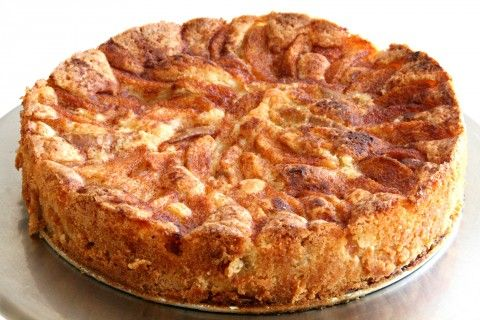 Classic, easy, delicious Pear Cake. Recipe here: http://www.shockinglydelicious.com/gail-simmons-pear-tart-cake/