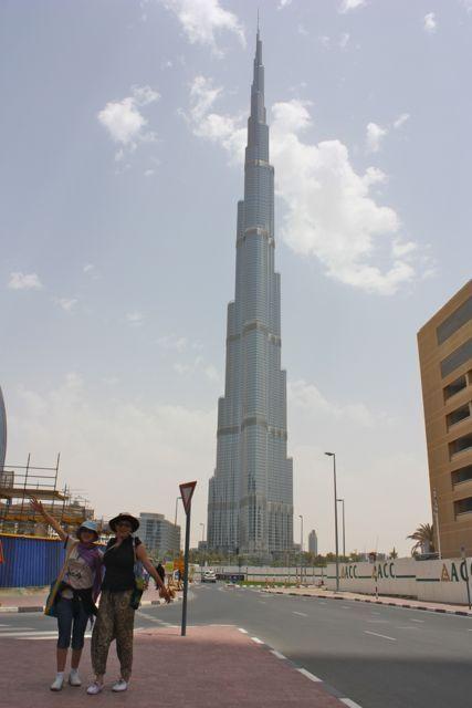 Burj Khalifa, the world's tallest building.