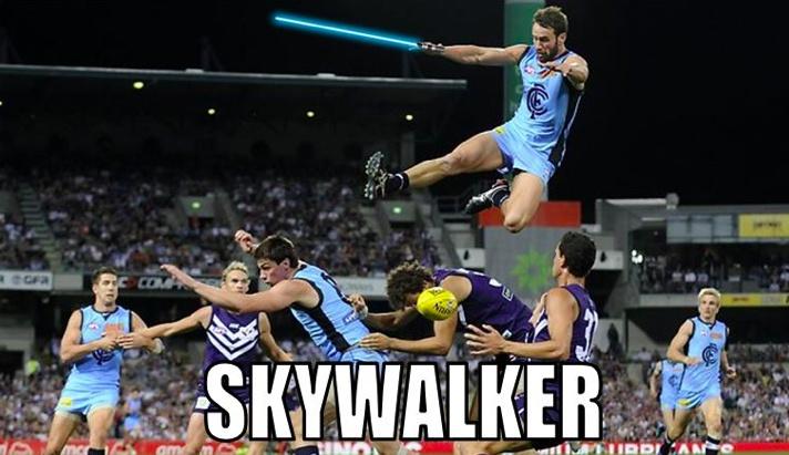 AFL, Funny, Memes, AFL Memes, Skywalker, MCG