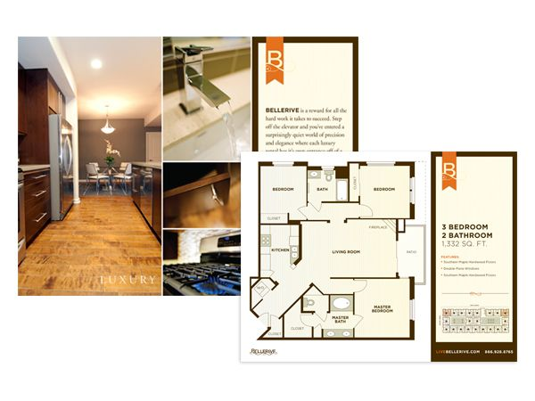 A Property Brochure Hab Floor Plan  Graphic