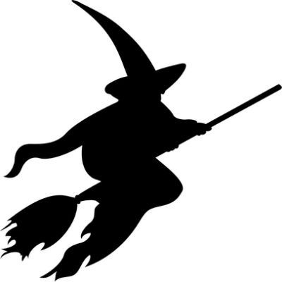Best 25 witch silhouette ideas on pinterest halloween for Pumpkin carving silhouettes