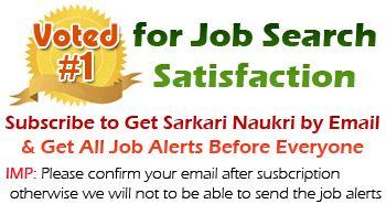 Subscribe to Get Sarkari Naukri
