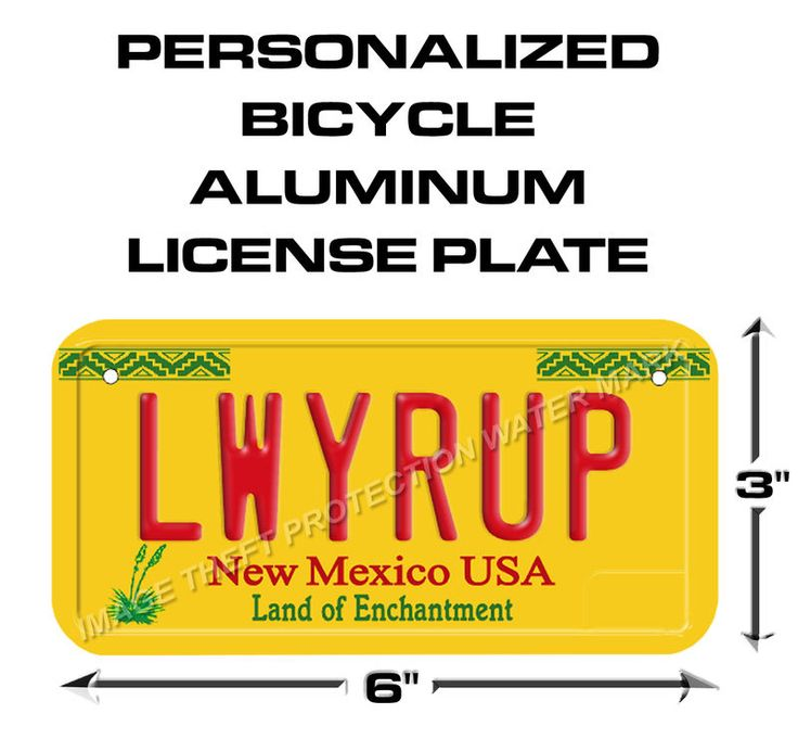 Breaking Bad Better Call Saul Goodman LWYRUP Bicycle, Scooter License Plate Tag