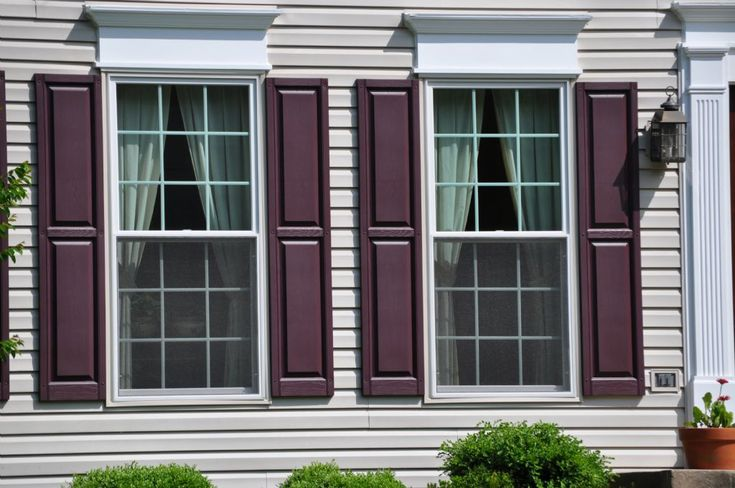 Exterior Window Shutters Designs Entrancing Decorating Inspiration