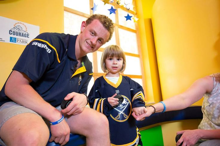 On his first full day as a Buffalo Sabre, Jack Eichel visited with PRCI's pediatric patients to make sure their day was filled with excitement and joy!