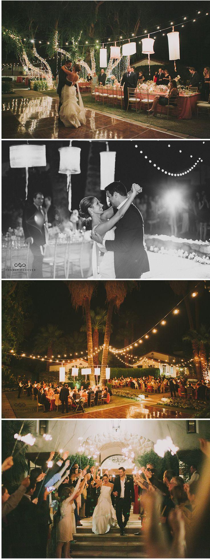 Romantic Palm Springs Wedding Keywords: #springweddings #weddinglighting #jevelweddingplanning Follow Us: www.jevelweddingplanning.com  www.facebook.com/jevelweddingplanning/
