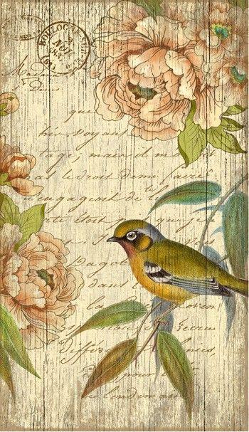 Vintage Bird Right Sign: Custom Vintage Signs