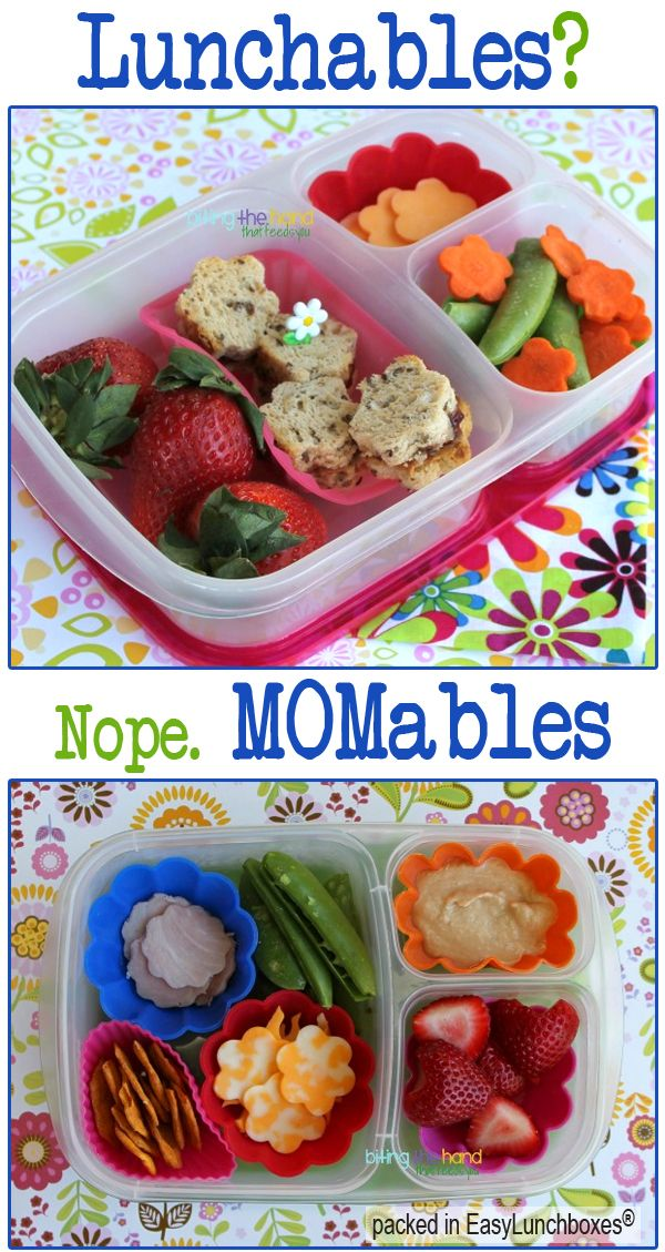 DIY Lunchables. Healthy and affordable.