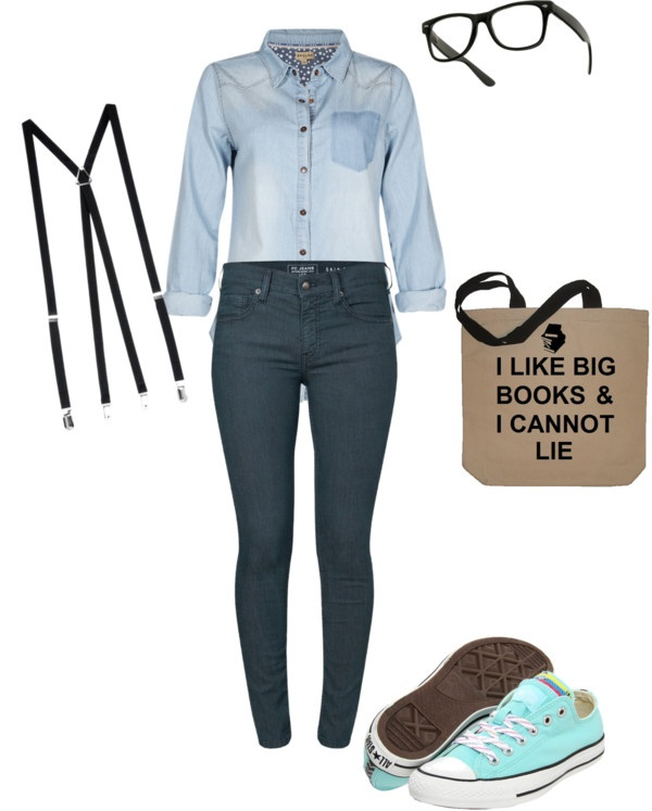 """nerd halloween costume"" by juicystar123 on Polyvore"