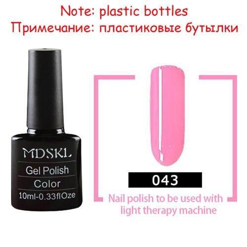 MDSKL 132 Colors Gel Nail Polish LED UV Gel Long-lasting Soak-off Gel Varnishes …