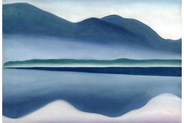 Georgia O'Keeffe Desert Paintings | Georgia O'Keeffe's Lake George Paintings at Hyde Collection ...