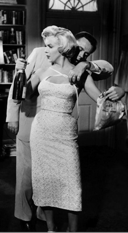 Marilyn Monroe, Tom Ewell - The Seven Year Itch (Billy Wilder, 1955)