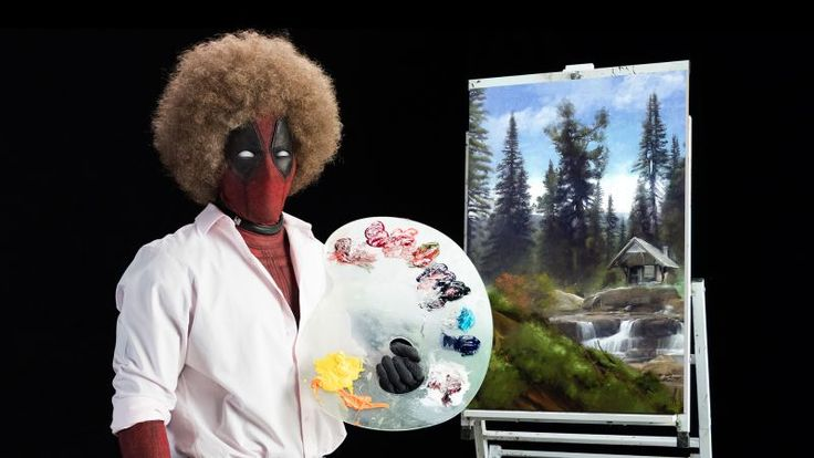 Deadpool 2 Teaser Brings First Footage and Deadpool as Bob Ross!
