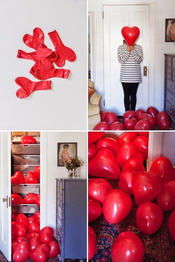 dekorolog: Evde Sürpriz Sevgililer Günü Kutlama Fikirleri