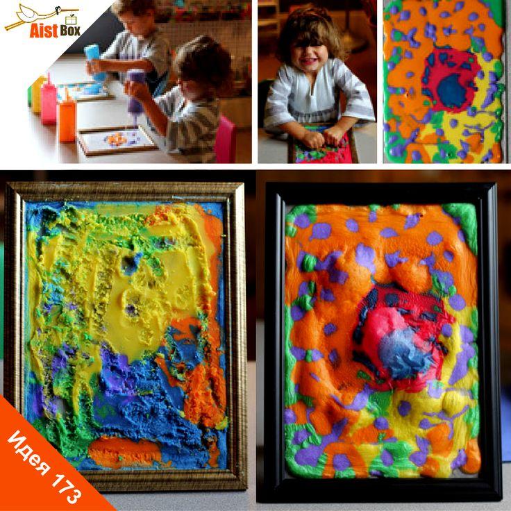 Предлагаем Вам и Вашим крохам создать настоящую 3D картину, которую можно повесить на стену или подарить друзьям) Такой вид творчества развивает мелкую моторику и прививает юным художникам любовь к прекрасному! #aistbox, #аистбокс, #летние поделки, #поделки для детей, #развитие ребёнка, #чем занять ребенка, #своими руками, #творчество
