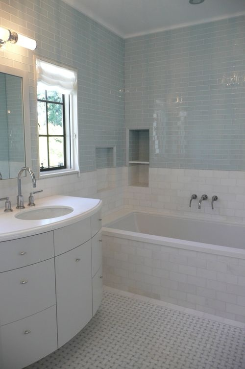 Blue And White Bathroom Pictures Small House Interior Design