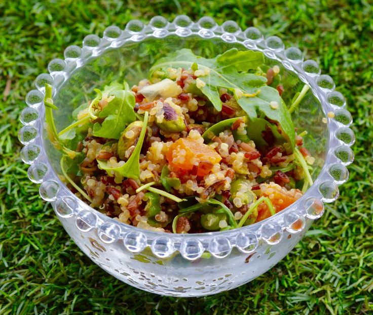 #Vegan Quinoa & Rice Salad