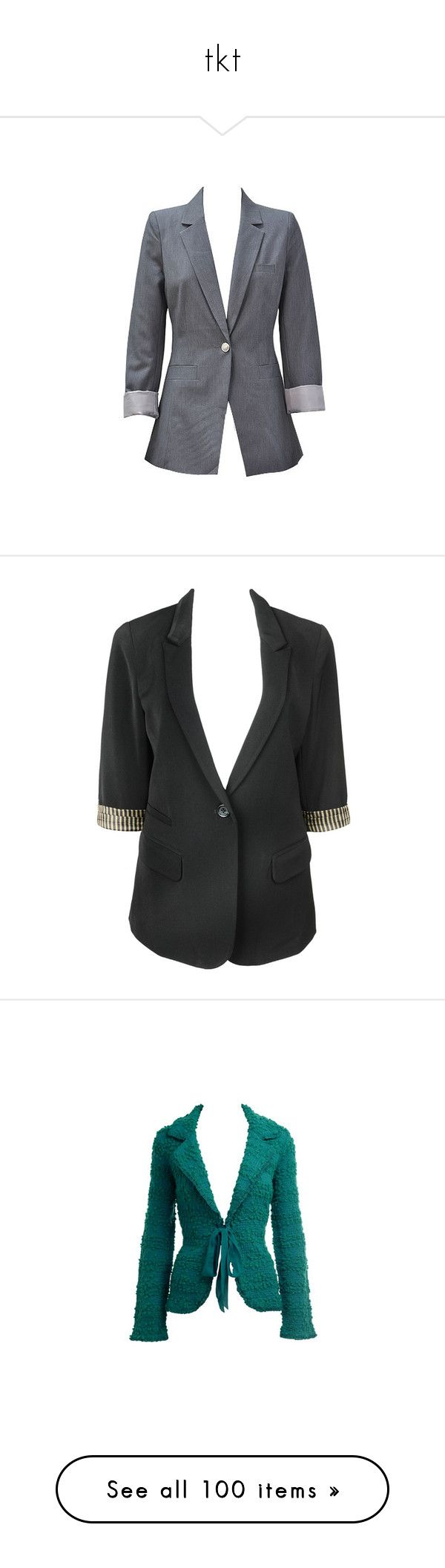 """tkt"" by toino ❤ liked on Polyvore featuring outerwear, jackets, blazers, boyfriend jacket, blazer jacket, boyfriend blazer jacket, boyfriend blazers, blazer, black and forever21"