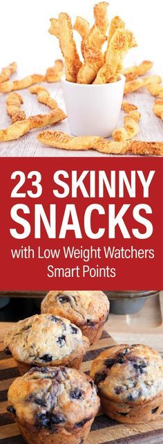 23 Skinny Snacks With Low Weight Watchers SmartPoints including Chicken Bites, C…