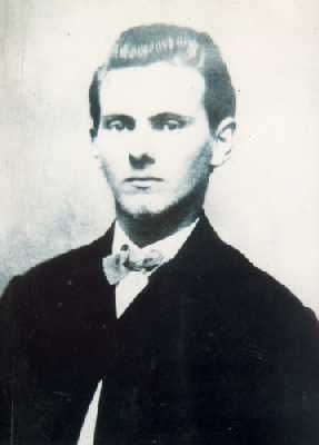 Leader of the James-Younger gang. Shot to death by gang members Bob and Charley Ford, in 1882.