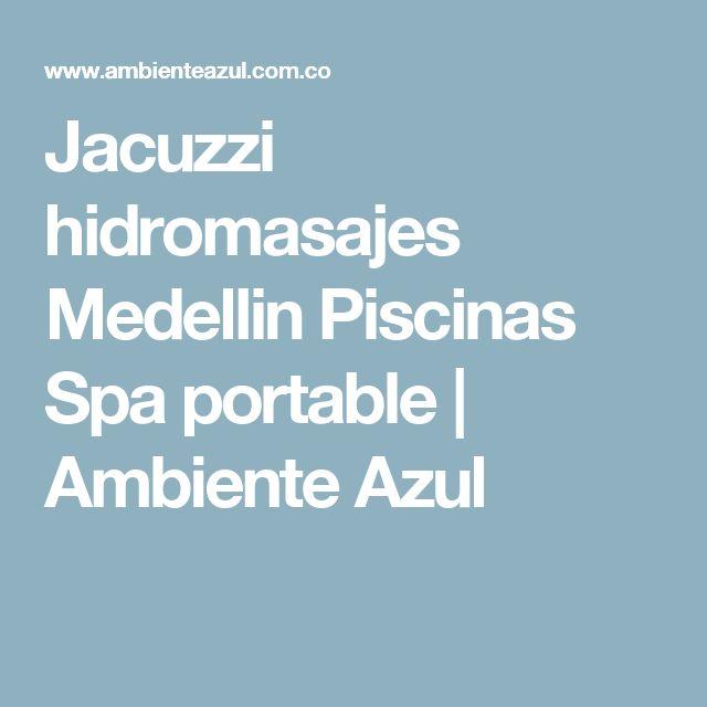 Jacuzzi hidromasajes Medellin Piscinas Spa portable | Ambiente Azul