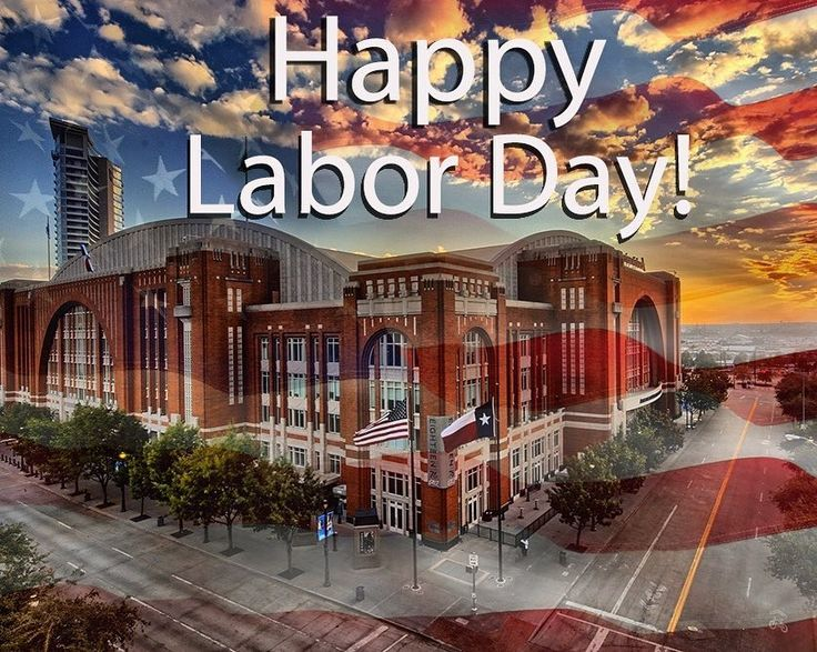 """163 Likes, 1 Comments - American Airlines Center 🐴💙⭐️💚 (@aacenter) on Instagram: """"Happy Labor Day!"""""""