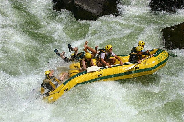 Top 7 #Thrilling Destinations for #White_Water_Rafting - #Zambezi_River is located in Zimbabwe. White water rafting is something adventurous and should be experienced by #adventure_lovers. Warm sunny weather, scenic beauty of Africa captivates anybody there while jouncing around at the base of Victoria Falls. You can also round off your #rafting experience with #camping on white #sandy_beaches and #wildlife for which it is famous.