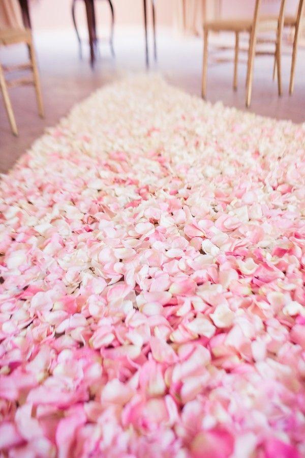 21 Best Rose Petal Carpets Images On Pinterest Pink