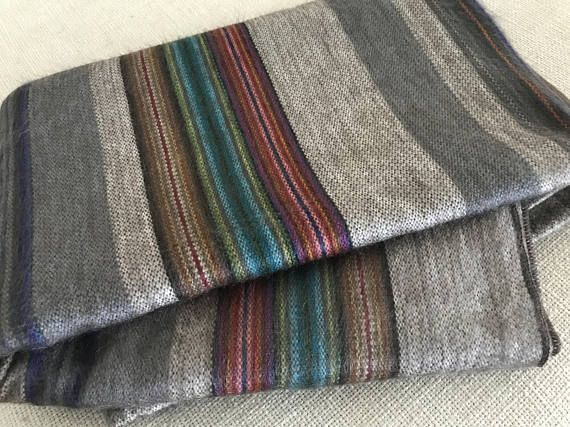 The Pacha Alpaca Blanket is one of our incredibly soft alpaca blankets designed and hand-woven in Peru and Ecuador. These are exclusive designs that can be used in boho or hippie-chic styled rooms and settings. Its part of the Terra Collection which is inspired by the elements of the high peaks of the Andes and the blue skies of the exotic South American cities. Its sure to keep you warm and comfy in the long winter months and in the cool evenings of summer. 80% Alpaca 20% Acrylic 68x90…