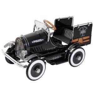 dexton police pick up pedal car i love vintage modes of transportation something